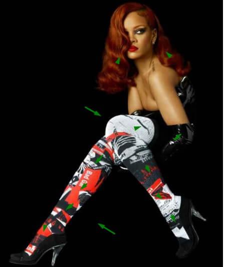 Kaos Kaki Bergaya Anak Sekolah Ala Artis Cantik Rihanna