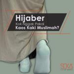 Produsen Kaos Kaki Muslimah Soka Kanik Jempol dan Wudhu di Bandung